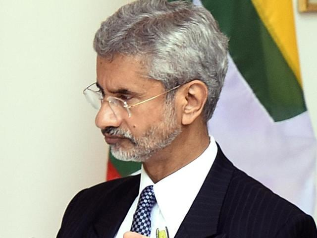 Foreign secretary S Jaishankar said the concept of state and non-state actors on the issue of terrorism was a 'false dichotomy', hitting out at Pakistan's narrative that terror attacks on India were carried out by non-state actors.