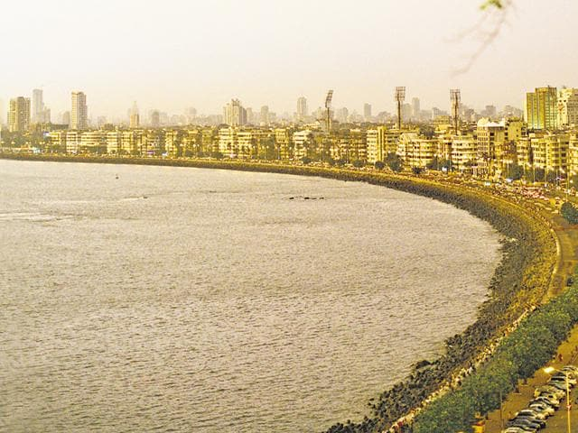 The Ambassador offers a stunning view of the city's vast coastline