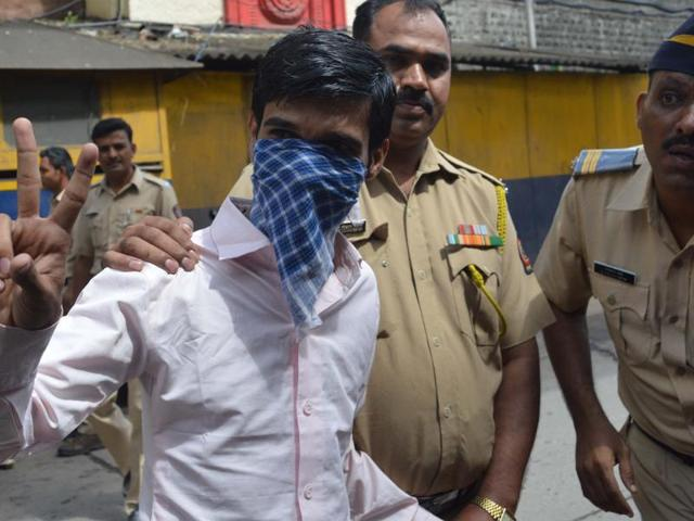 Ankur Panwar appeared defiant as he arrived for his sentencing on Thursday.
