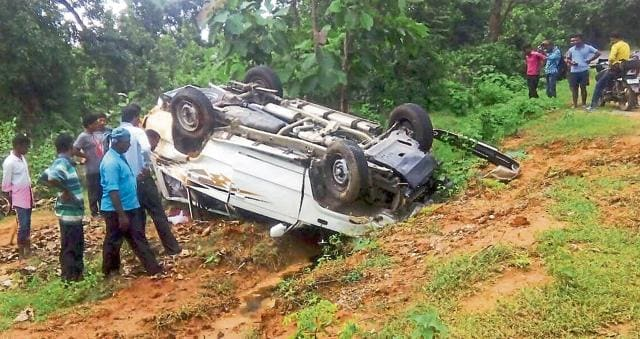 ASP (anti-corruption bureau) Anand Joseph Tigga died in a road accident on National Highway-75 on September 1.