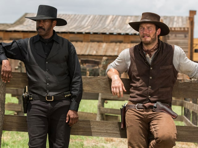 Magnificent Seven,Denzel Washington,Chris Pratt