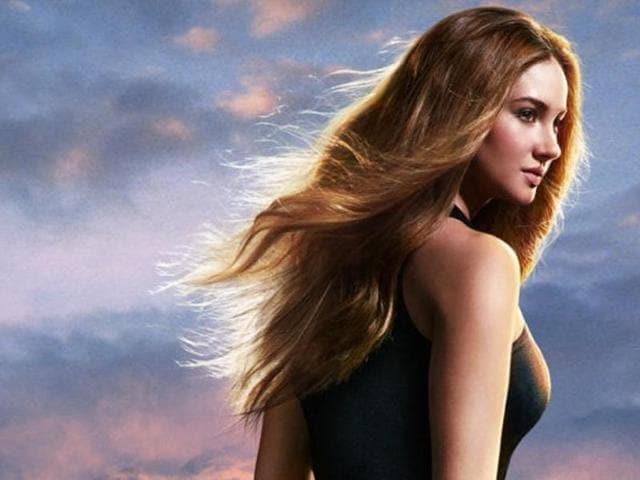 Shailene Woodley as Tris in Divergent.