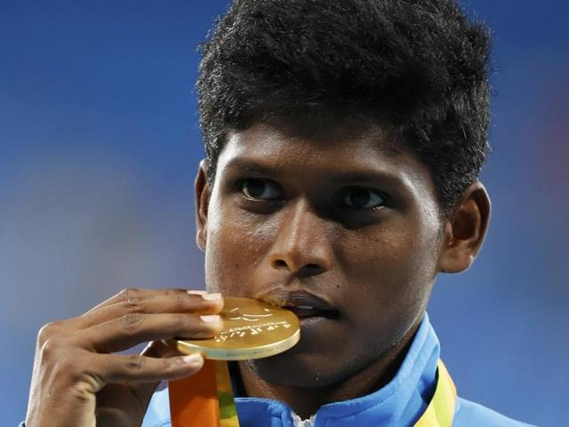 Rio Paralympics: India's Thangavelu wins gold, Bhati bronze in high jump