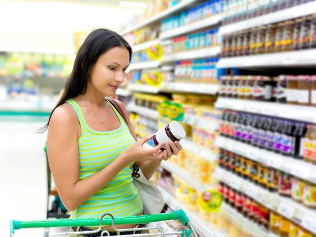 Don't look just for food label instructions such as sugar-free, low calorie etc but also for the nutritive value in them.