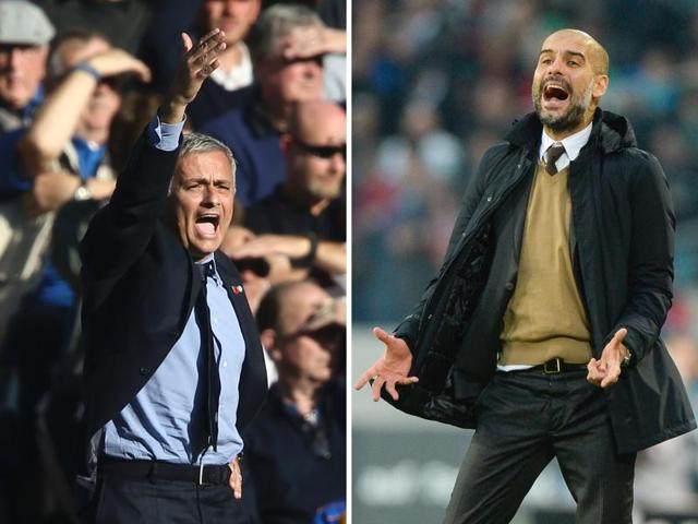 Mourinho fought a bitter three-year running battle with then Barcelona-coach Guardiola during his time at Real Madrid.