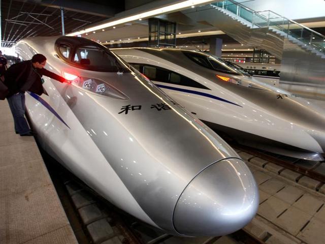 Bullet train network,World's largest bullet train network,China bullet train