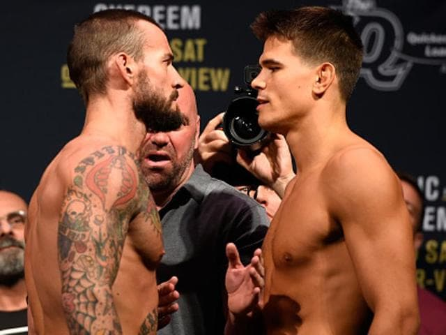 CMPunk will be facing Mickey Gall in his first ever Mixed Martial Arts (MMA) fight.