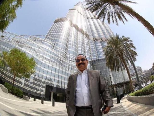 George V Nereaparambil owns 22 apartments in the Dubai's Burj Khalifa.(Twitter)