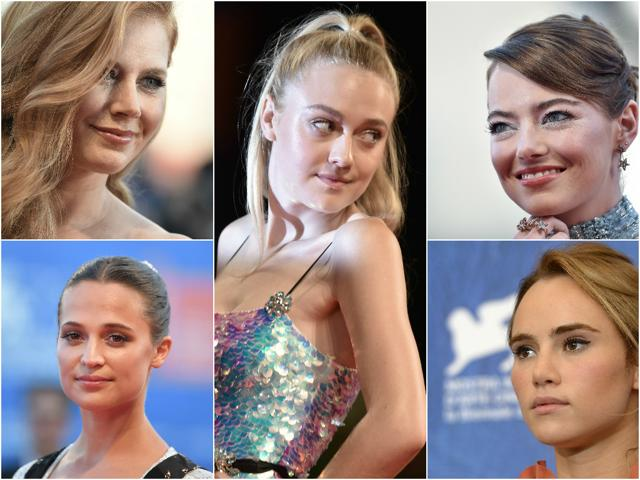Countless stars turned up for the paparazzi rocking the same fresh, low-key yet flawless makeup look at the Venice Film Festival this year.