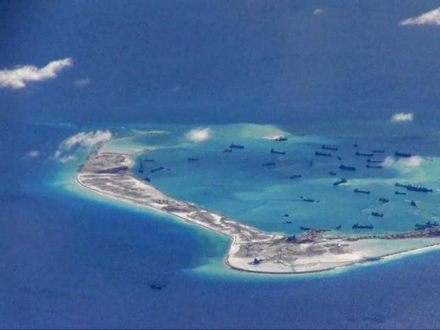 China claims most of the South China Sea, through which more than $5 trillion of trade moves annually. Brunei, Malaysia, the Philippines, Taiwan and Vietnam have rival claims.