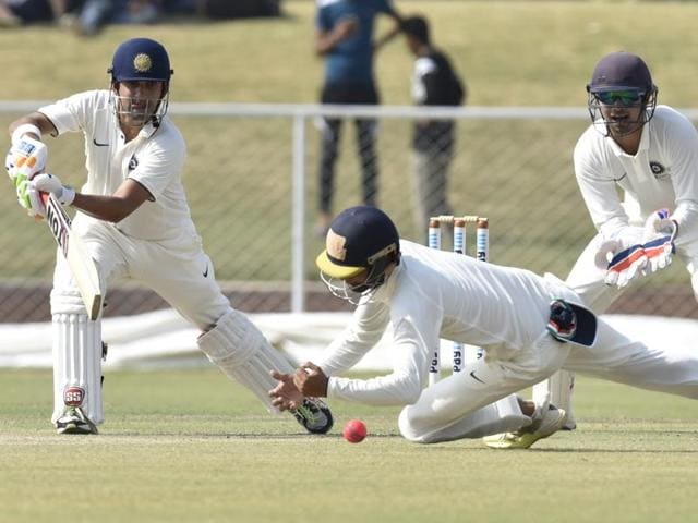 The crowd for Day one of the Duleep Trophy final was sparse at best.