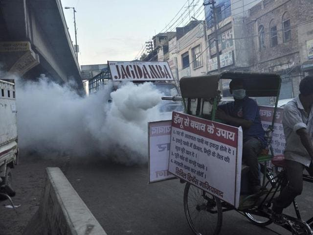 Authorities of both Noida and Ghaziabad claim they carry fogging regularly.