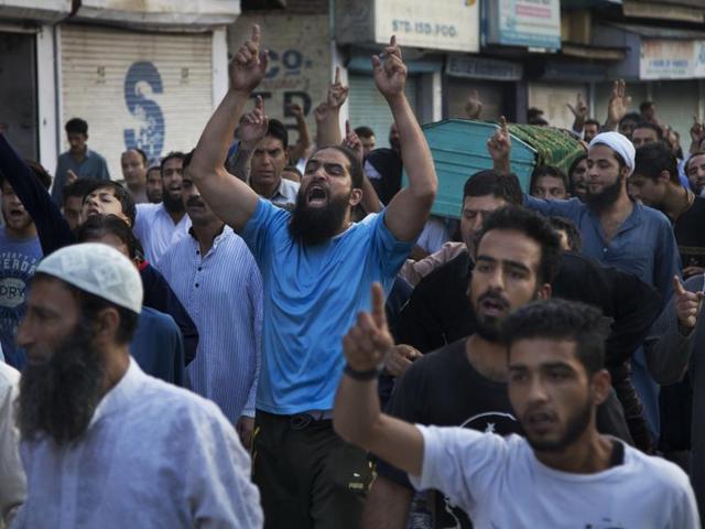 Kashmir,Kashmir protests,burhan Wani