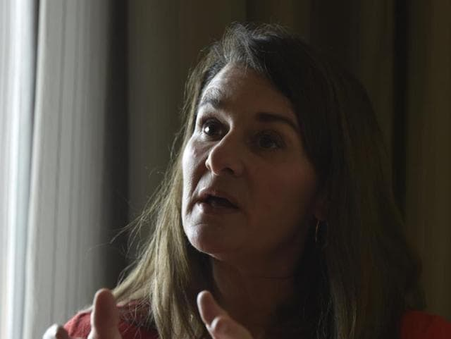 Melinda Gates said fewer women are choosing to study science, technology, engineering and math (STEM) subjects that offer the best jobs.