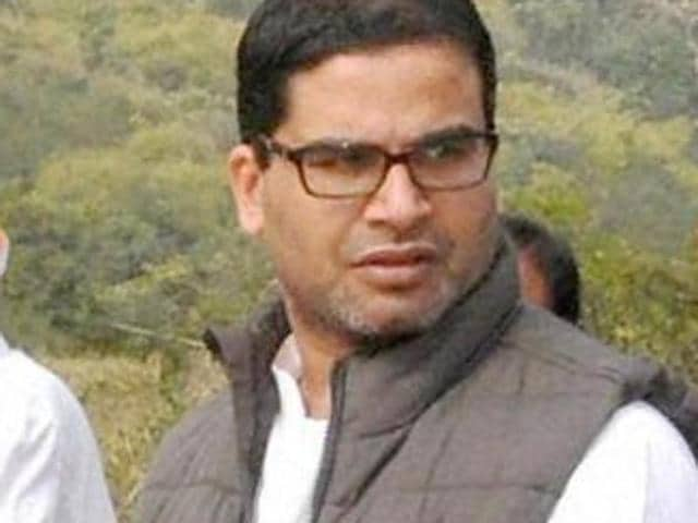 Political strategist Prashant Kishor (R) with Bihar chief minister Nitish Kumar after the grand alliance won the Bihar assembly elections in 2015. Kishor also worked with Narendra Modi during for the 2014 general elections and is currently consulting for Congress.