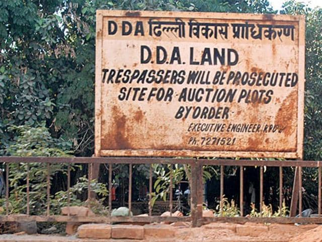 """The DDA had acquired the 13.2 acres of land  for """"planned development"""" of the Capital but will now have to return the plot in Vasant Kunj to the three owners."""