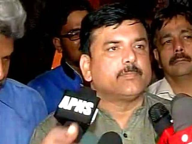 Court framed charges against AAP leader Sanjay Singh in a defamation case.