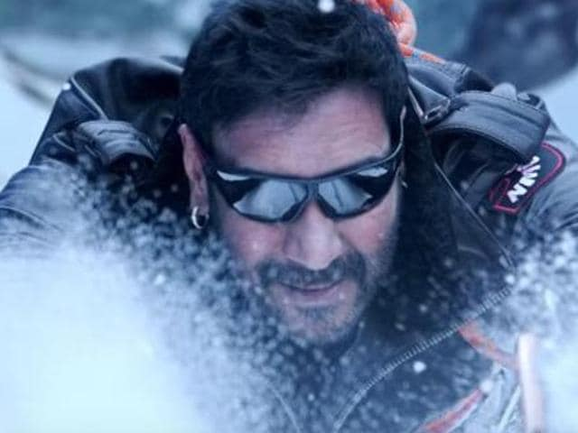 Ajay Devgn in a still from Shivaay.