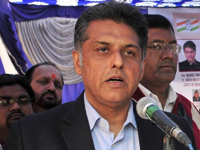 """Congress senior leader Manish Tewari claimed that the oligarchs and crony capitalists are """"making merry"""" as the """"honest tax payer"""" is being raided."""