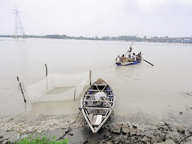 The Inland Waterways Authority of India (IWAI) moved a petition at the National Green Tribunal (NGT) on Monday, seeking permission to start water taxis in a portion of the polluted river.