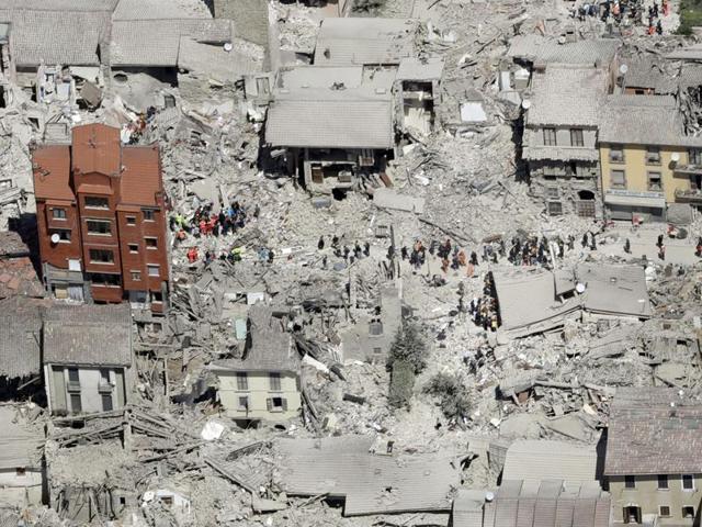Amatrice,Earthquake in Italy,Charlie Hebdo