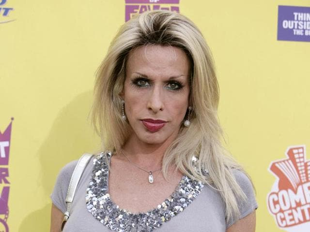In this July 22, 2007 file photo, Alexis Arquette arrives at the Comedy Central Roast of Flavor Flav in Burbank, California.