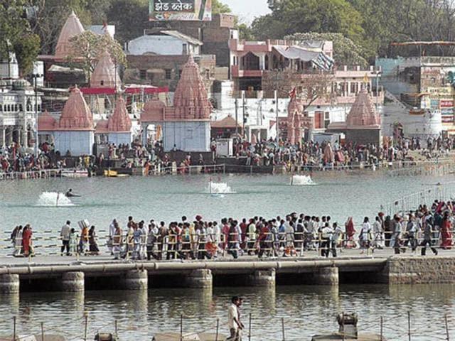 Simhastha was held at Ujjain between April and May.