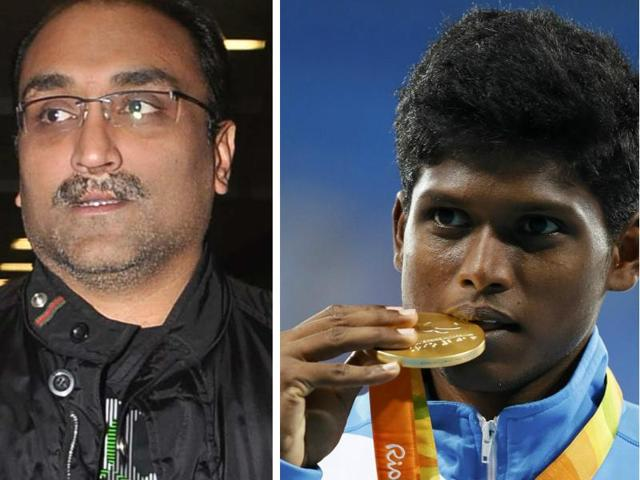 Aditya Chopra's production company Yash Raj Films has announced a Rs 10 lakh cash reward for paralympian Mariyappan Thangavelu. They will award other gold medal winners as well.
