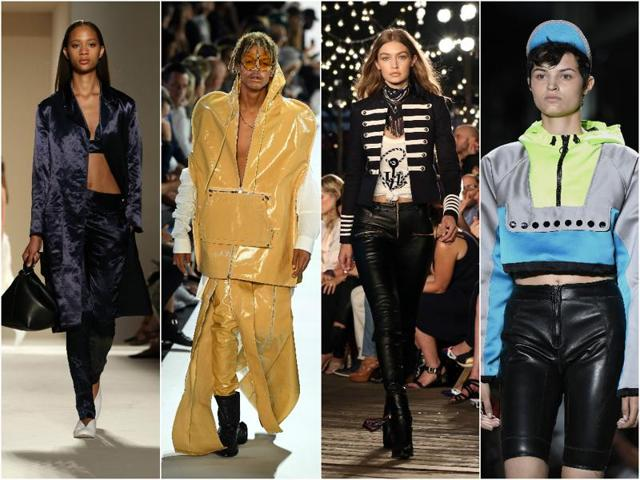 A glimpse of all that happened at the New York Fashion Week over the weekend.