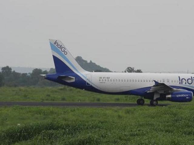 There was high drama on-board a Delhi-bound IndiGo flight on Tuesday, when an unruly passenger created a ruckus and misbehaved with air hostesses.