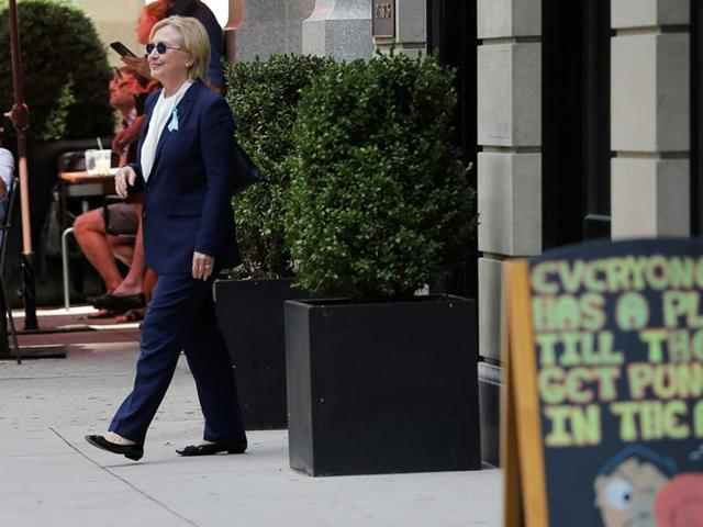 Hillary Clinton is set to return to the fray after several days of rest when she attends a Black Women's Agenda symposium Friday in Washington.
