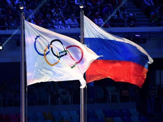 The IOC on Tuesday sanctioned four Russian Olympians who competed at the 2008 Beijing and 2012 London Games for failing drug tests.