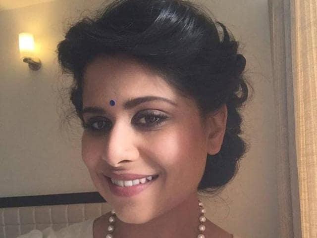 Sai Tamhankar starred in the Hindi film, Hunterrr.