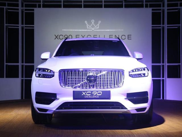 Volvo Launches Xc90 Plug In Hybrid Excellence T8 At Rs 1