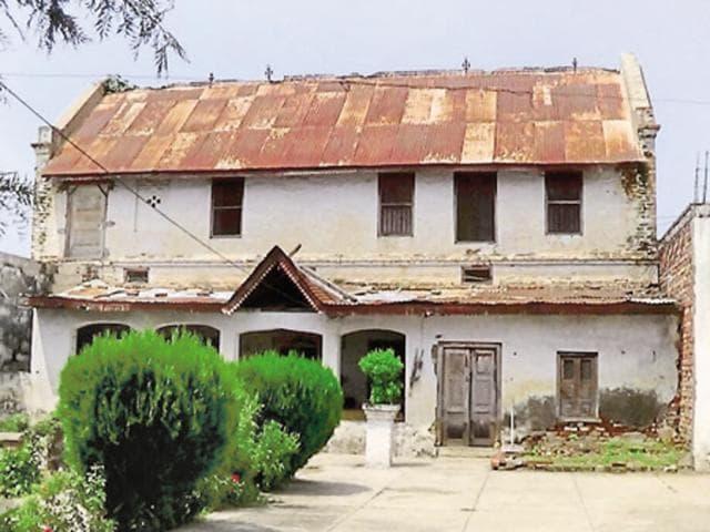 Around 150-year-old home of Kunwar Deepak Singh, descendant of Raja Datarchand.