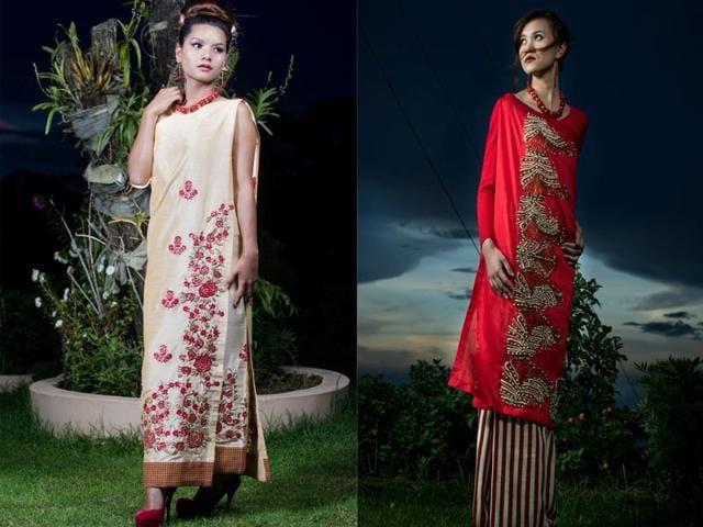 Shillong-based fashion designer Rupert Wanlambok Lynrah will showcase his tradition-meets-modern collection at London Fashion Week.(Facebook)