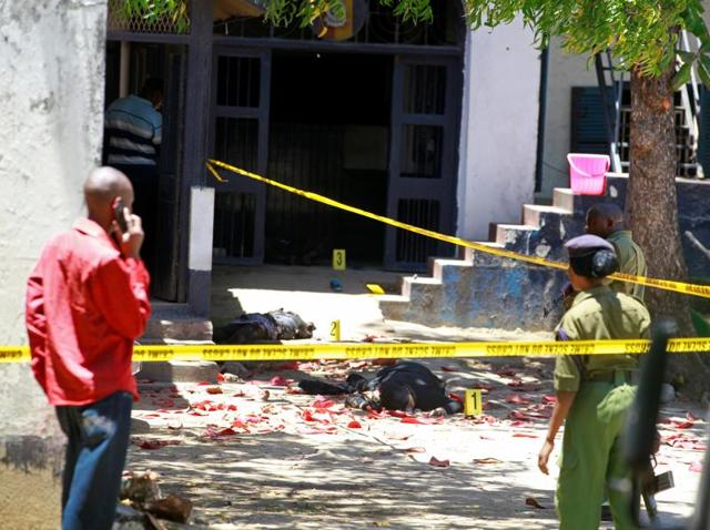 Kenya attack,Islamic State,Mombasa police station attack