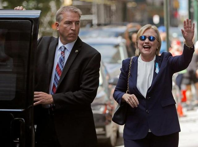Clinton will have to shake off the effects of pneumonia to return to the campaign trail.