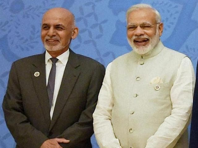 Prime Minister Narendra Modi will talk on a host of issues with Afghan President Ashraf Ghani when they meet in New Delhi on Wednesday.
