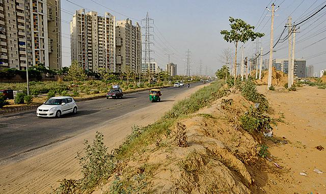 A major fallout of the cash crunch being faced by the urban authority is that it has finally dropped the plan to acquire around 1,290 acres of land earmarked to develop open areas and green spaces such as large public parks and a  stadium