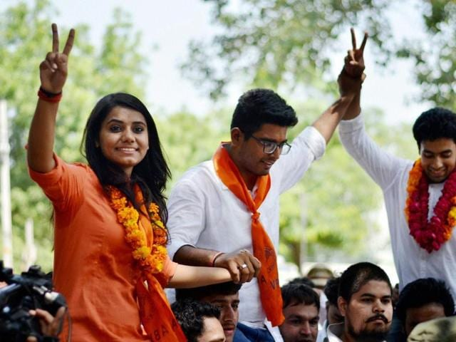 Now that Delhi University Students' Union elections are over, the winners talk about their journeys and plans.