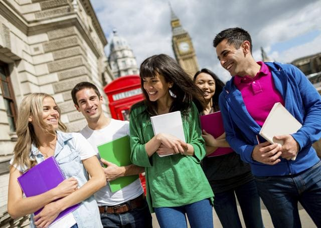A number of visa schemes are available for Indian students who wish to study or work in the UK.(Getty Images)