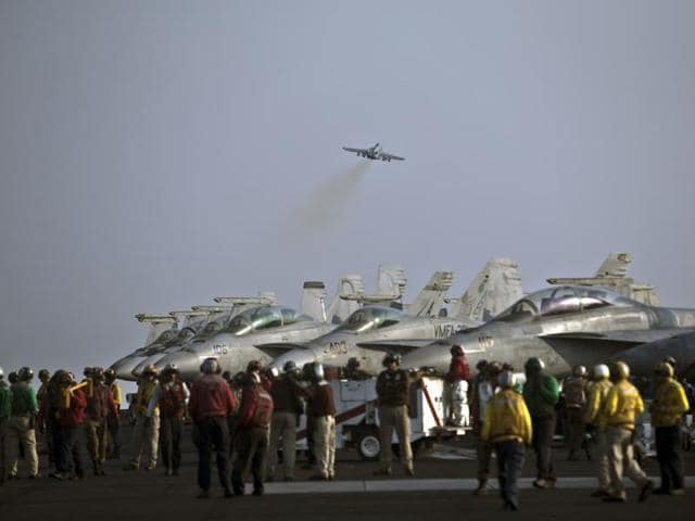 Iran threatened to fire missiles at US Navy planes: Defence
