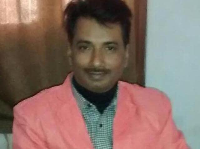 Rajdeo Ranjan was shot in the head and neck near Siwan railway station.