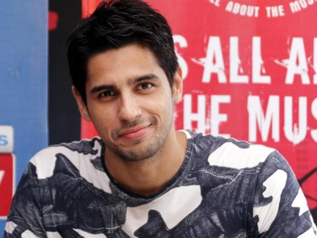 Actor Sidharth Malhotra is busy learning action for his next film.