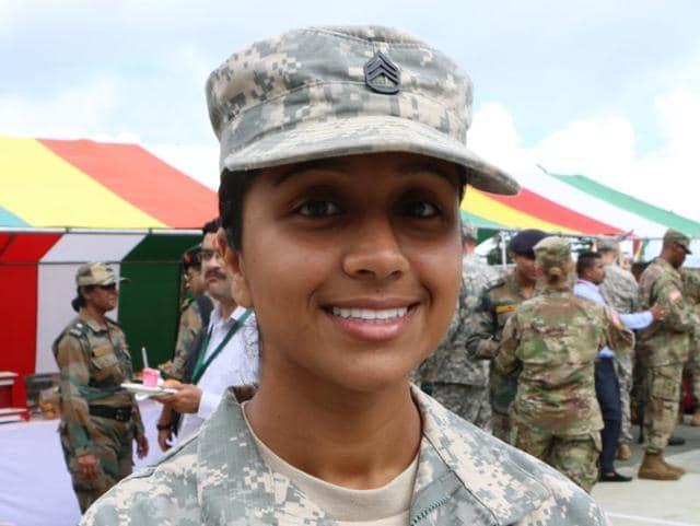 Balreet Kaur Khaira,US-India army joint exercise,US Army staffer