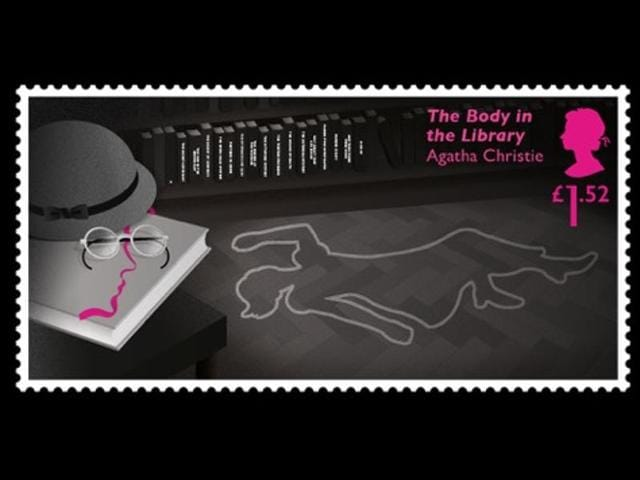 Buy A Stamp Solve An Agatha Christie Mystery World News