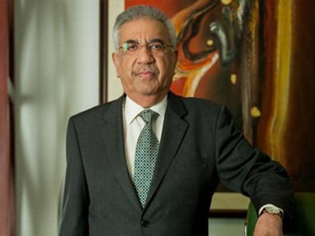Sadruddin Hashwani, chairman of Pakistan's Hashoo Group.