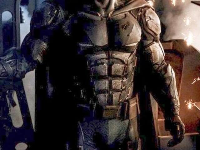 Batsuit revealed ben affleck