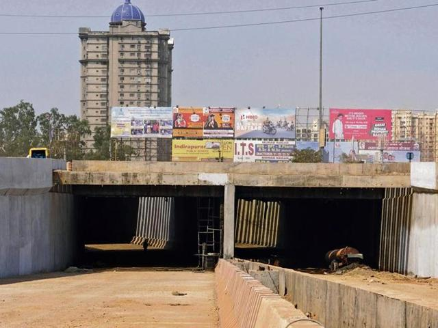 NH24 Underpass,Noida sector 62,Indirapuram